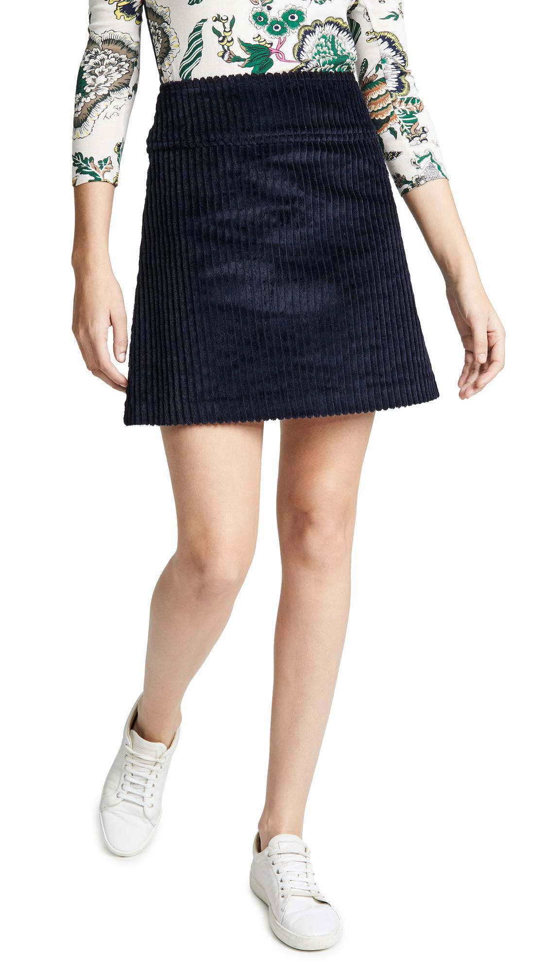Wright Skirt in Dark Navy