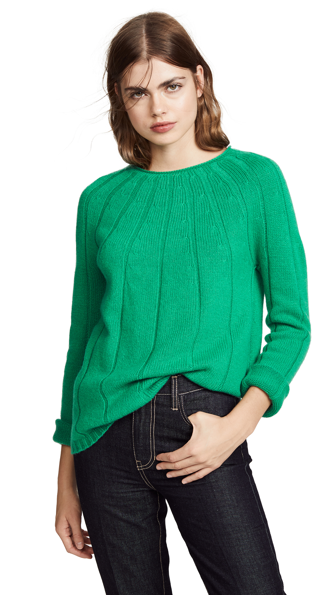 A.P.C. Clemence Sweater In Vert