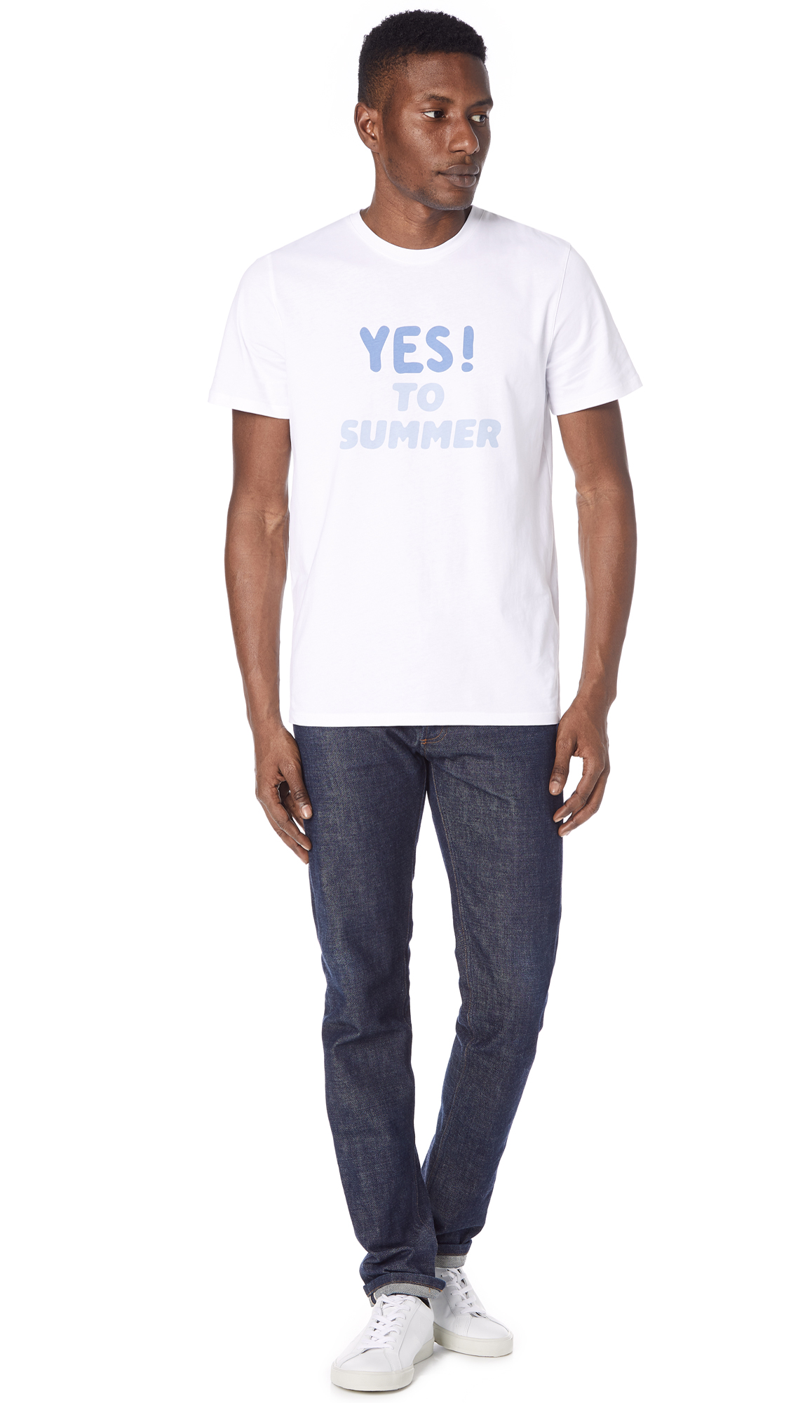91b242524048 A.P.C. Yes to Summer H T-Shirt