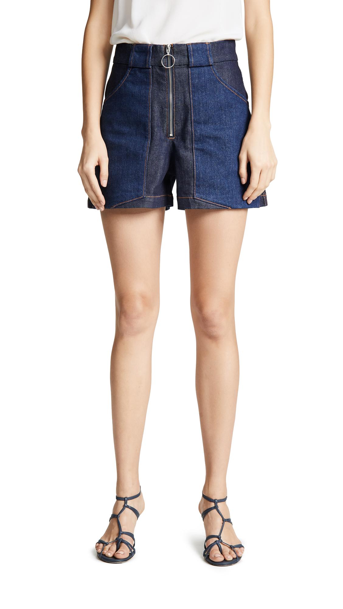Chrissie Shorts in Indigo Delave