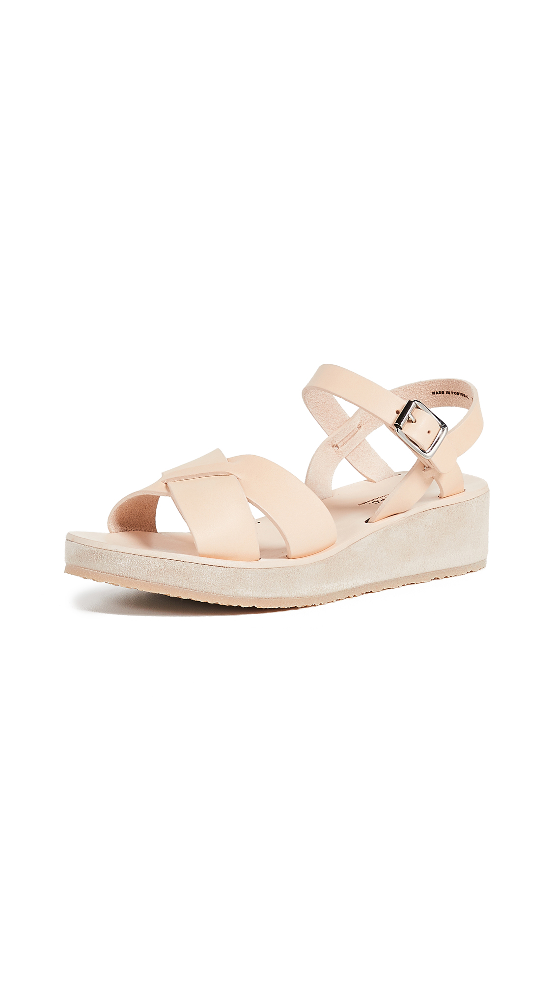 A.P.C. Originales Sandals - Bad Beige Naturel