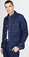 A.P.C. Veste Axel Sherpa Lined Jacket