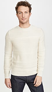 A.P.C. Nicolas Pullover Striped Sweater