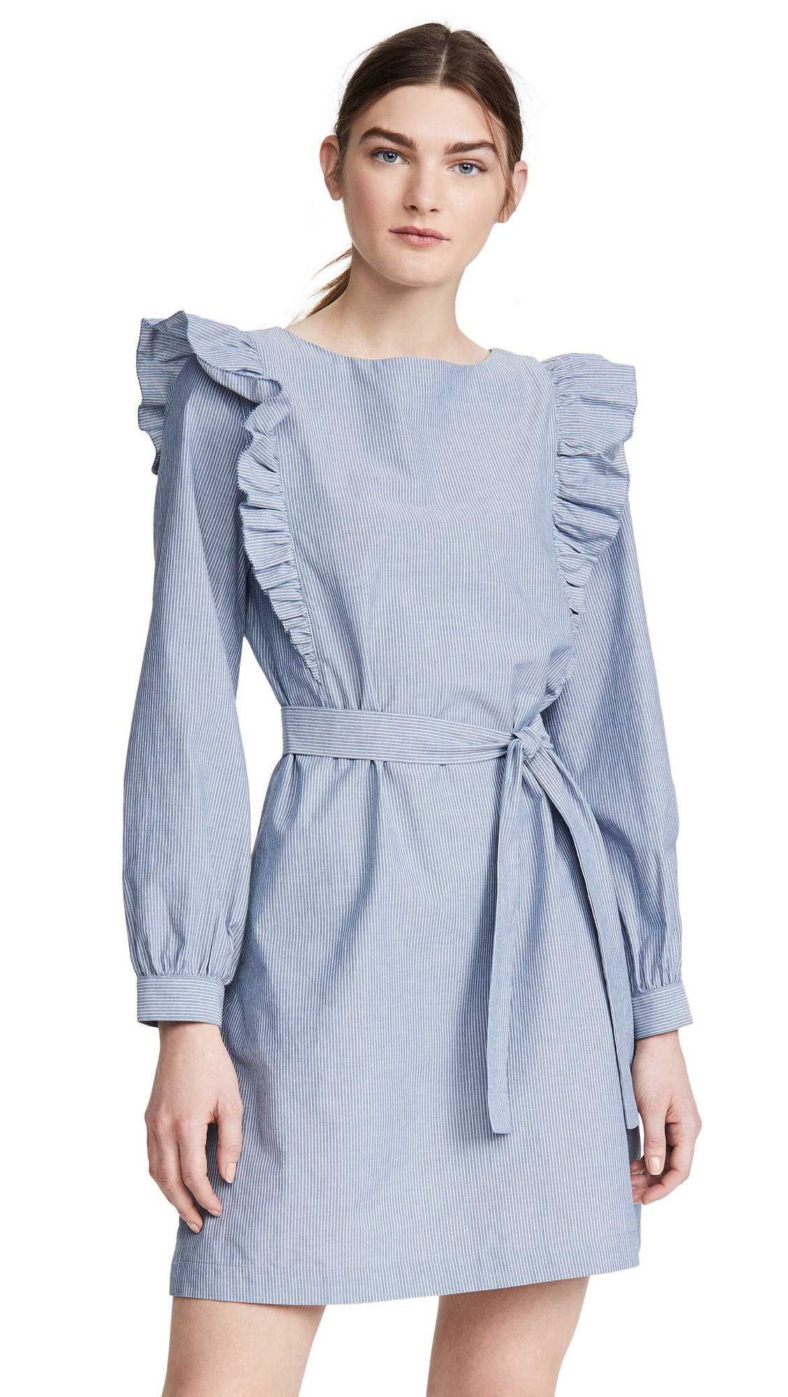 Buy A.P.C. Robe Tess Dress online beautiful A.P.C. Clothing, Dresses