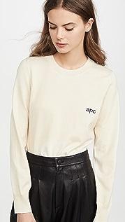 A.P.C. 徽标套衫