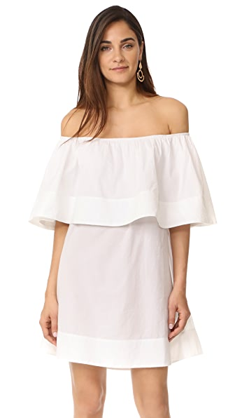 Apiece Apart Piper Petal Dress - Cream