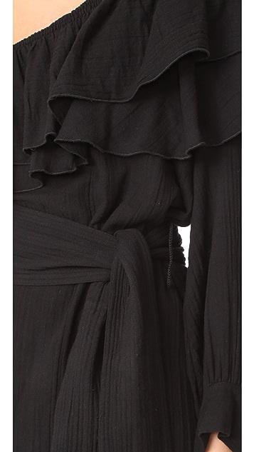 Apiece Apart Rock Rose Bare Shoulder Dress