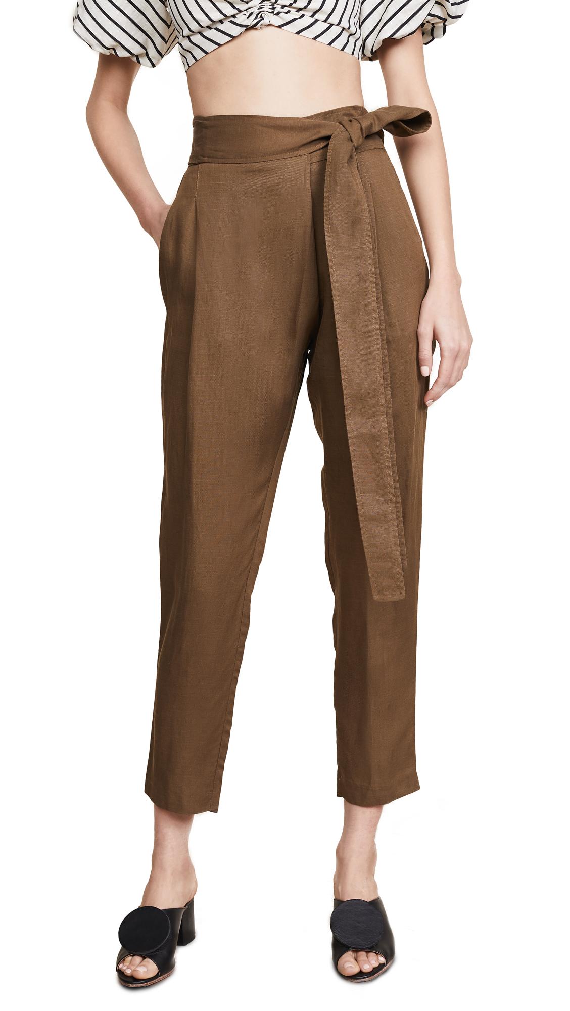 Apiece Apart Isa Wrap Pants