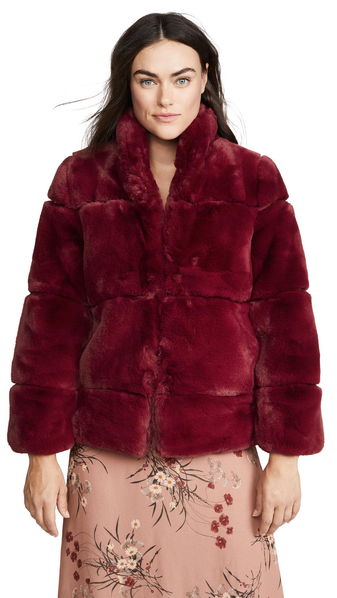 Buy Apparis Sarah Faux Fur Jacket online beautiful Apparis Clothing, Jackets