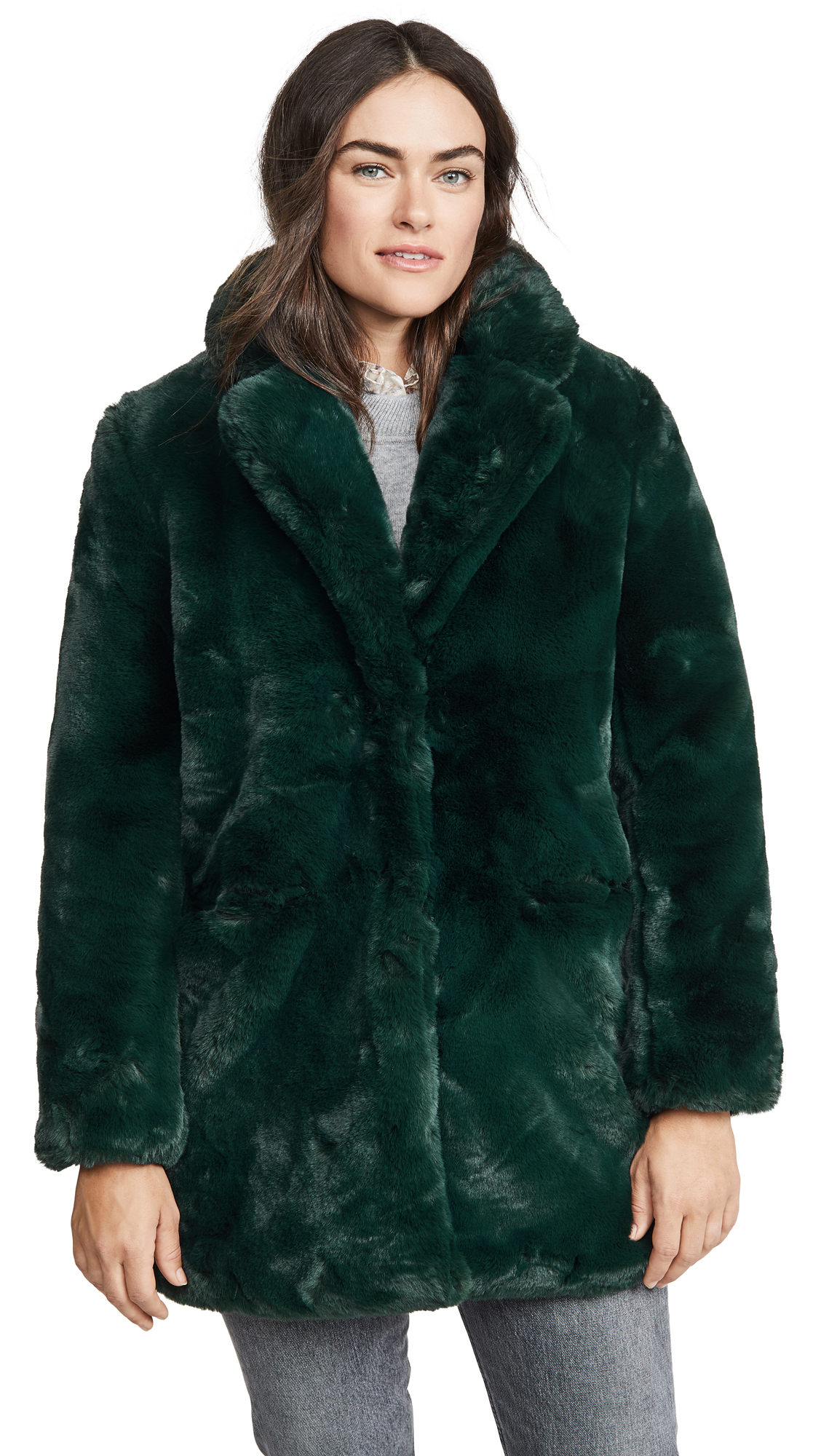 Buy Apparis online - photo of Apparis Sophie Faux Fur Coat