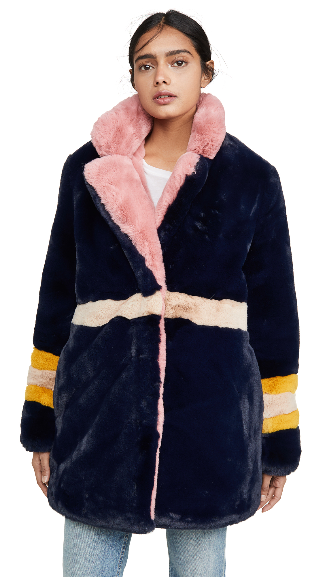 Buy Apparis online - photo of Apparis Lisa Faux Fur Coat