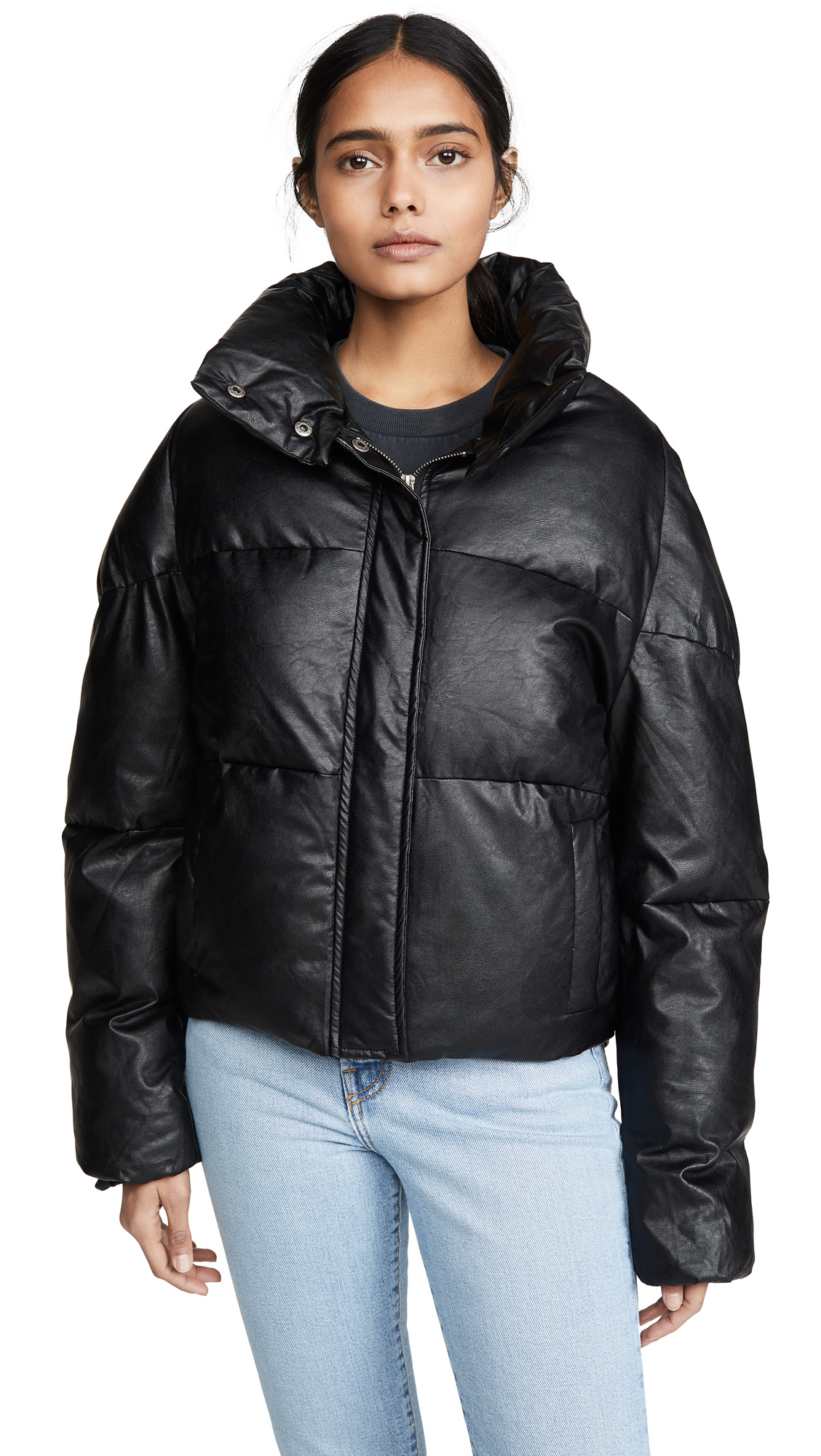 Buy Apparis online - photo of Apparis Camila Vegan Leather Puffer