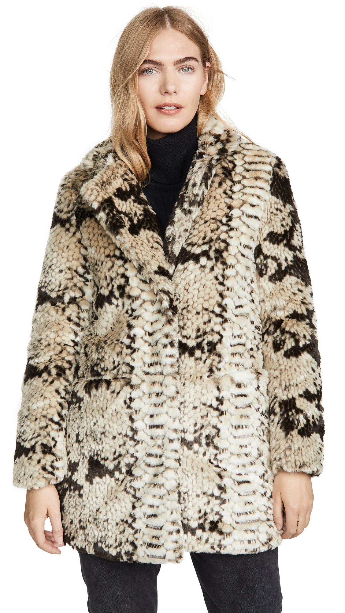 Buy Apparis Sydney Faux Fur Coat online beautiful Apparis Clothing, Jackets