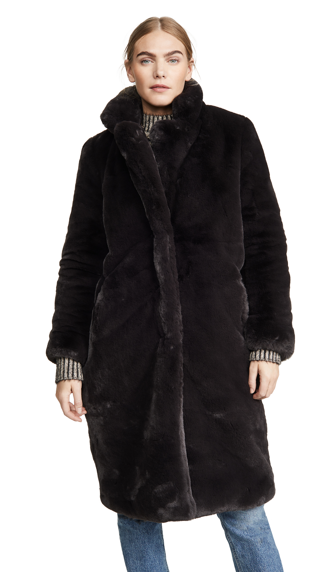 Buy Apparis Siena Faux Fur Coat online beautiful Apparis Clothing, Jackets