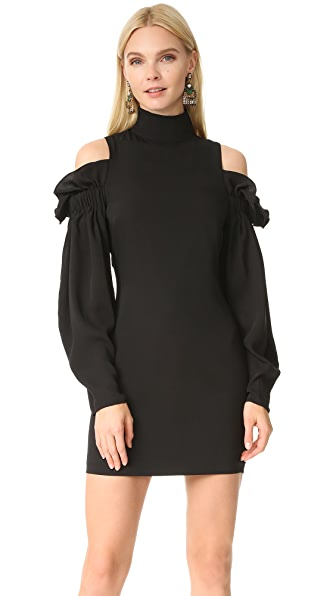 AQ/AQ Azha Mini Dress In Black