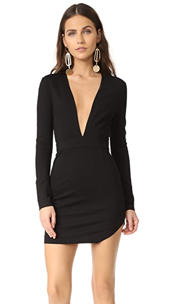 AQ/AQ Milla Mini Dress In Black