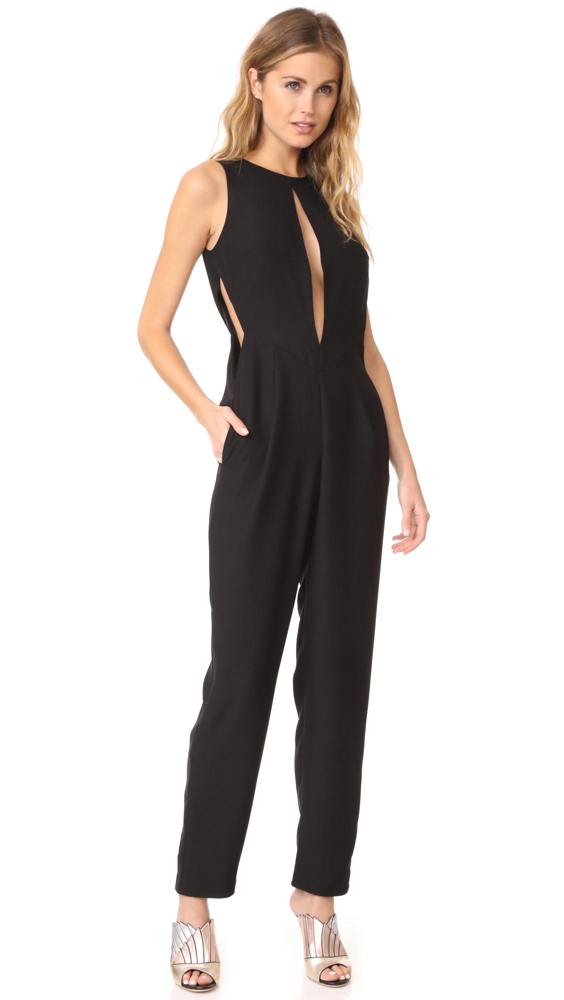 AQ/AQ Ivy Jumpsuit - Black