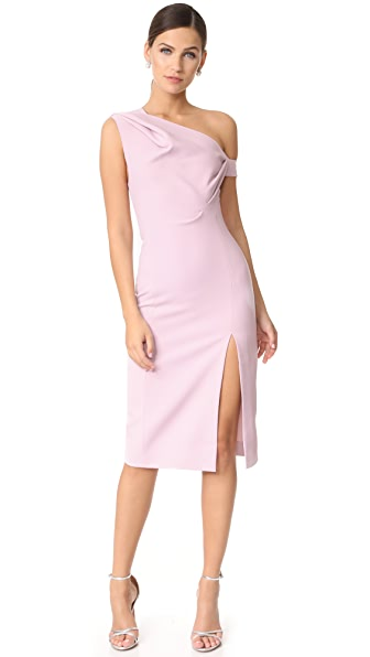 AQ/AQ Didion Dress In Pale Lilac
