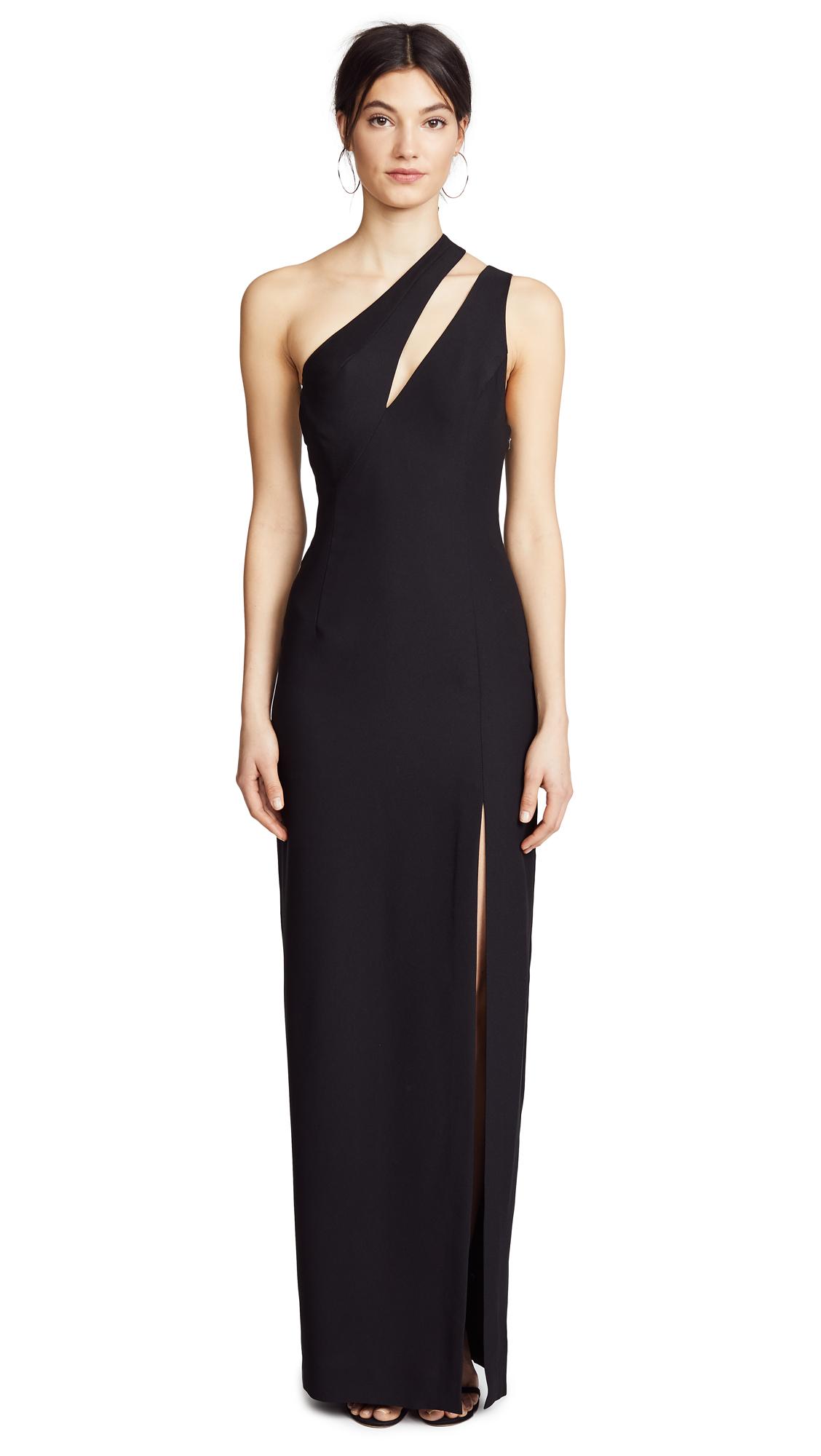 AQ/AQ Florence Maxi Dress In Black