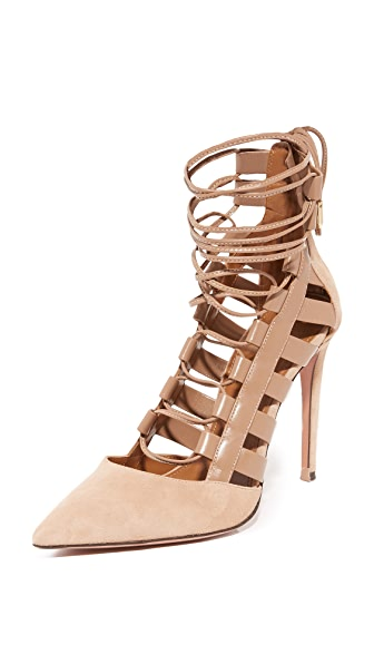 Aquazzura Amazon Pumps - Biscotto at Shopbop