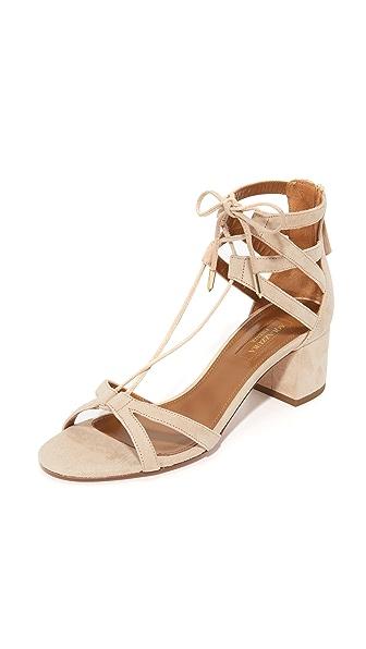Aquazzura Beverly Hills Sandals - Nude