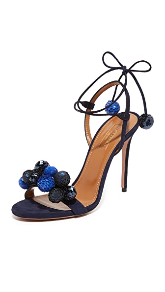 Aquazzura Disco Thing Sandals - Ink