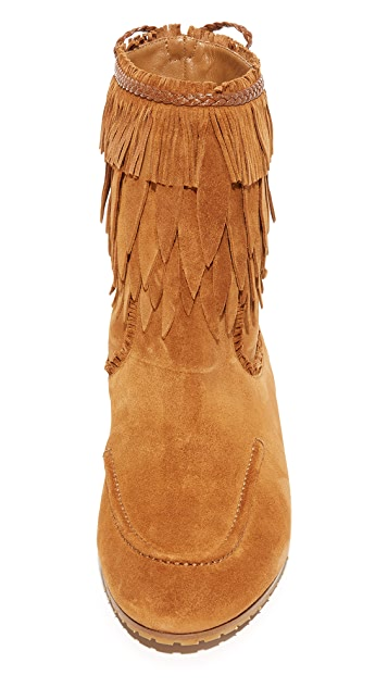 Aquazzura Tiger Lily Flat Booties