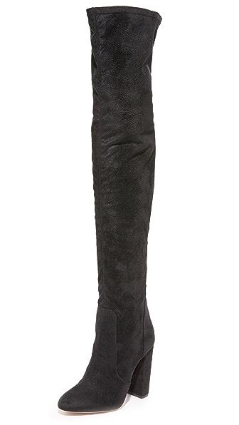 Aquazzura Thigh High Boots - Black at Shopbop