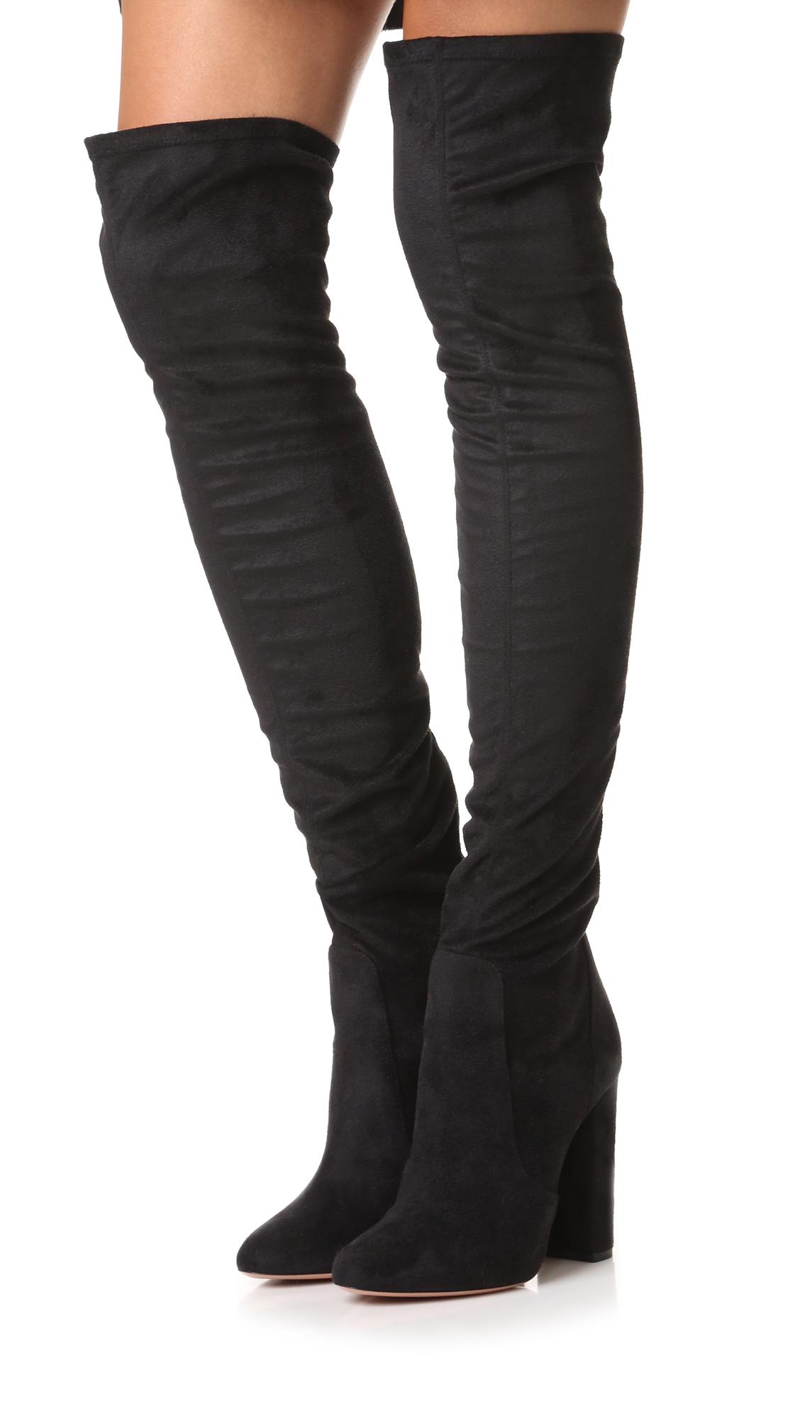 4e2eca990c44 Aquazzura Thigh High Boots