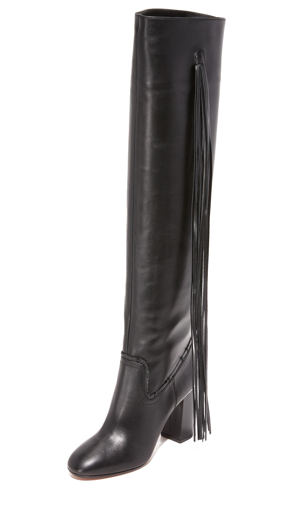Aquazzura Whip It Boots - Black at Shopbop
