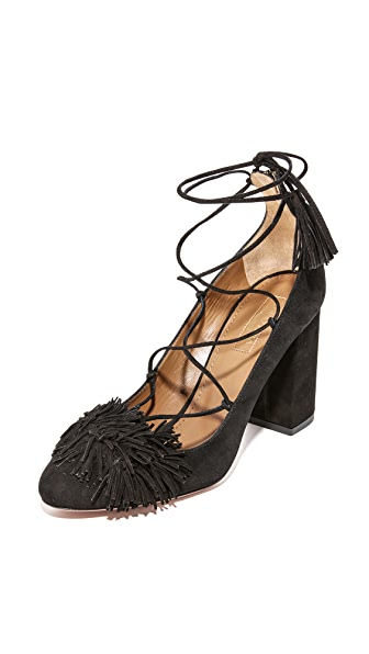 Aquazzura Wild Pumps - Black