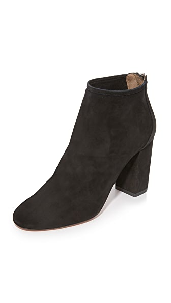 Aquazzura Downtown Booties - Black
