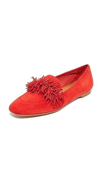 Aquazzura Wild Loafers - Lipstick
