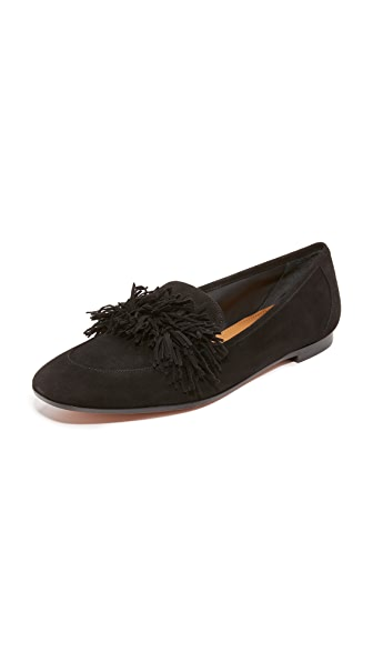 Aquazzura Wild Loafers In Black