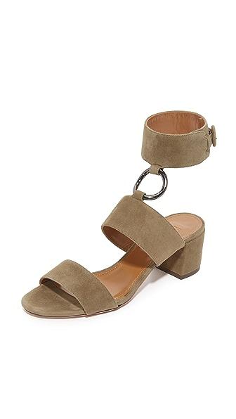 Aquazzura Safari City Sandals - Truffle