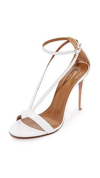Aquazzura Casanova Sandals - White