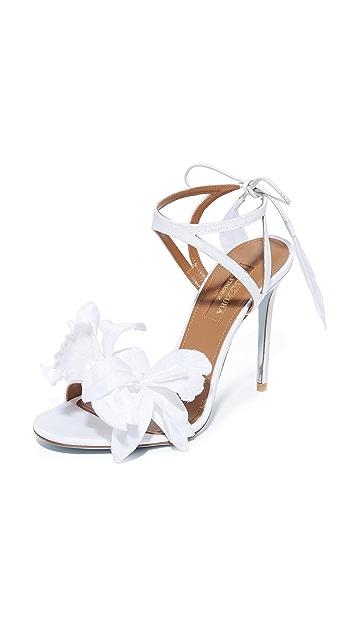 Aquazzura Flora Sandals