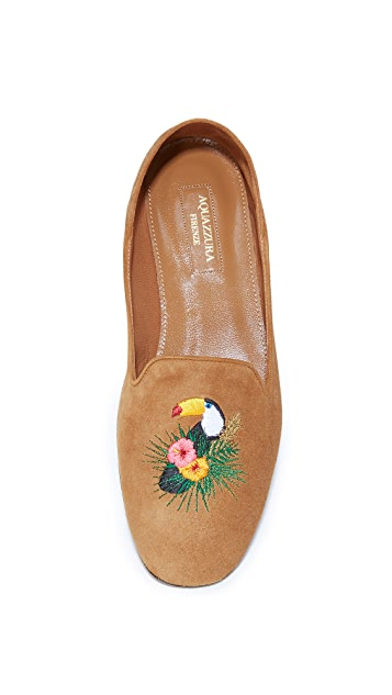 Aquazzura Toucan Loafers