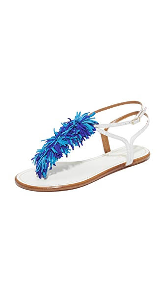 Aquazzura Wild Thing Flat Sandals