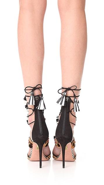 Aquazzura Zulu 105 Sandals