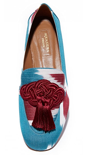 Aquazzura Legend Moccasins