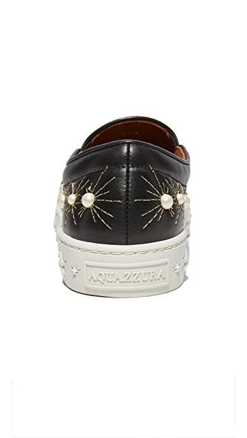 Aquazzura Cosmic Slip On Sneakers