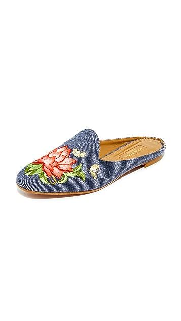 Aquazzura Lotus Slippers