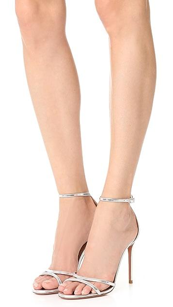 Aquazzura Purist 105 Sandals