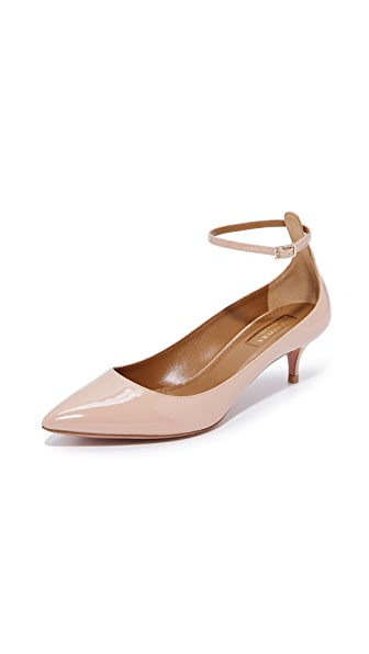 Aquazzura Kisha 45 Pumps - Powder Pink