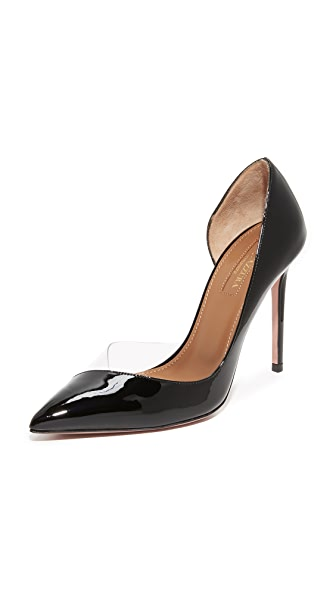 Aquazzura Eclipse 105 Pumps - Black