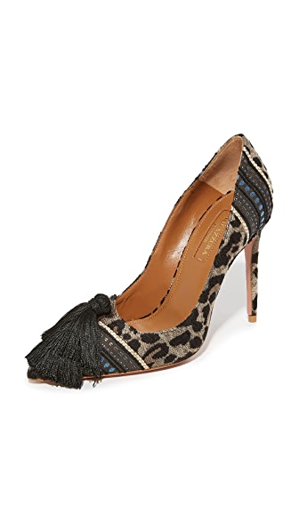 Aquazzura Love Tassel 105 Pumps