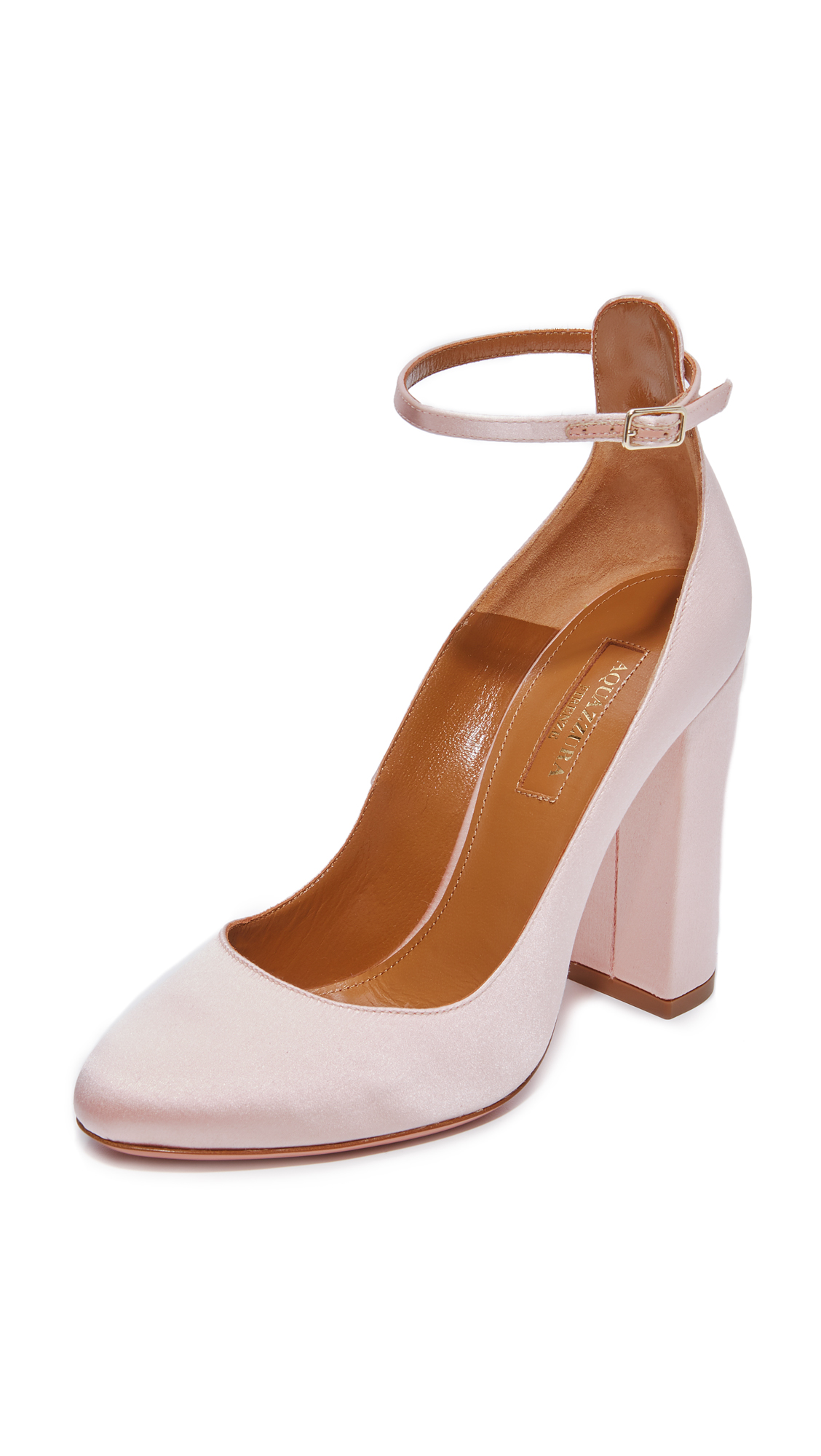 Aquazzura Alix 105 Pumps - Pink