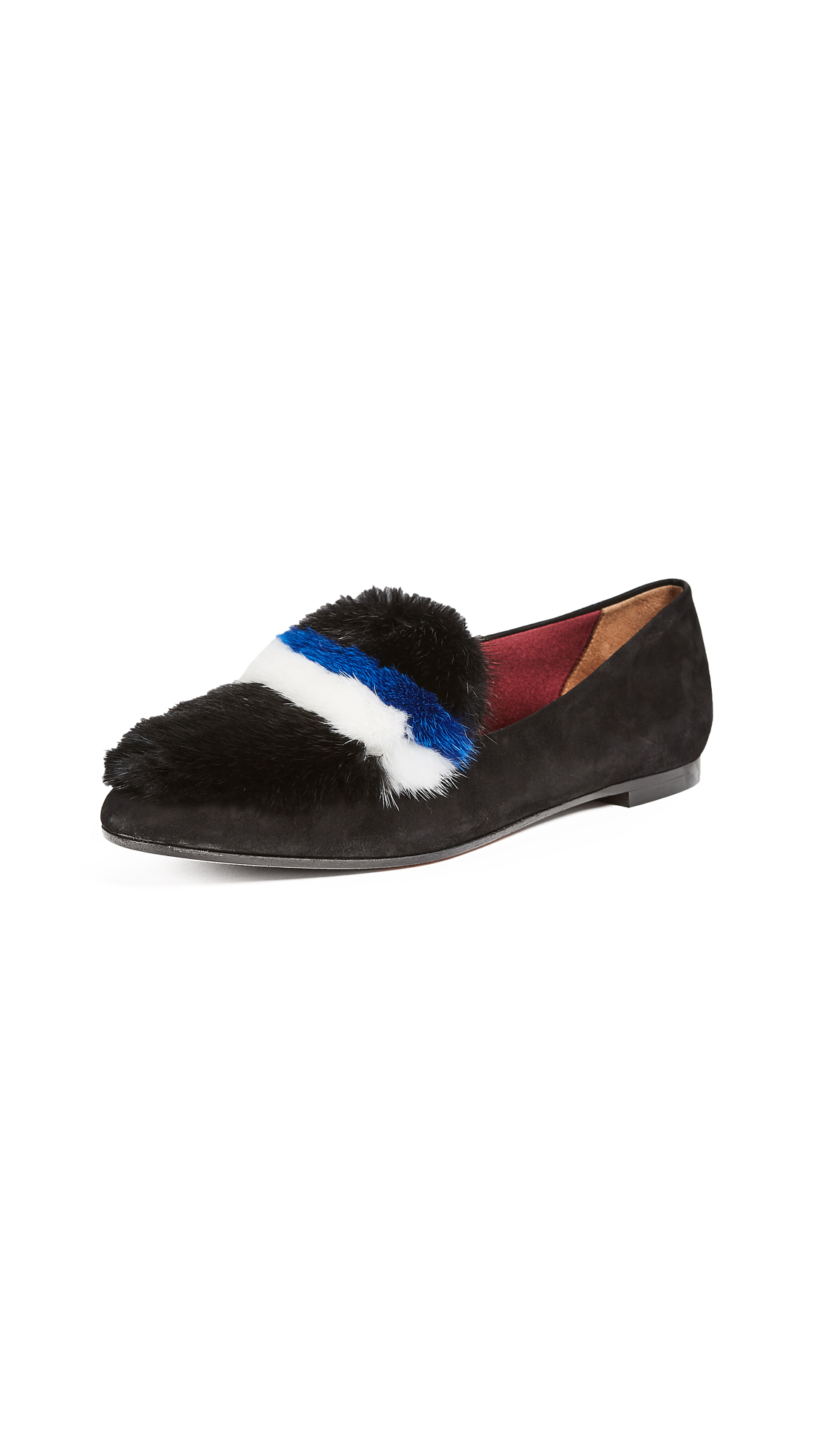 Aquazzura Purr Loafers - Black