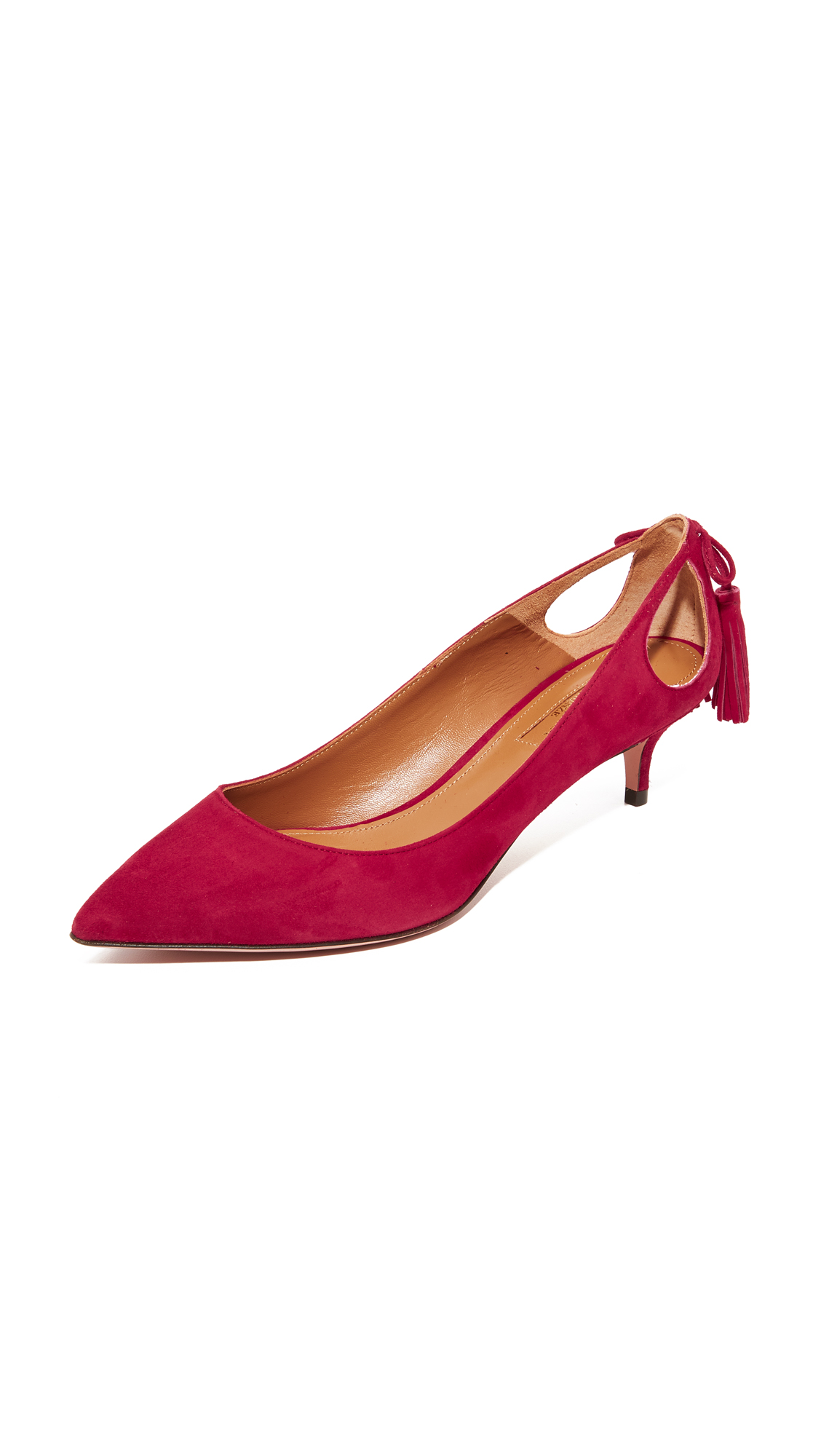 Aquazzura Forever Marilyn 45 Pumps - Spice Red